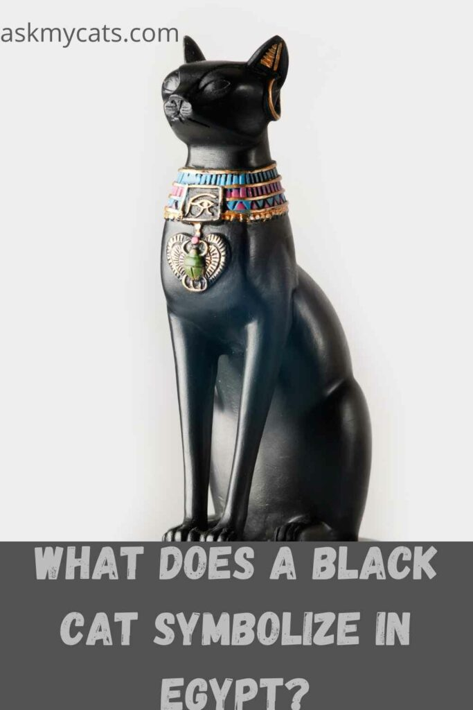what does a black cat symbolize in egypt